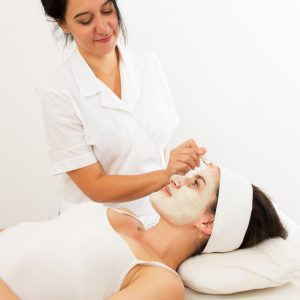 Tratamiento facial peeling