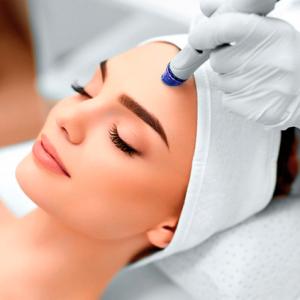 Tratamiento facial - puntas de diamante